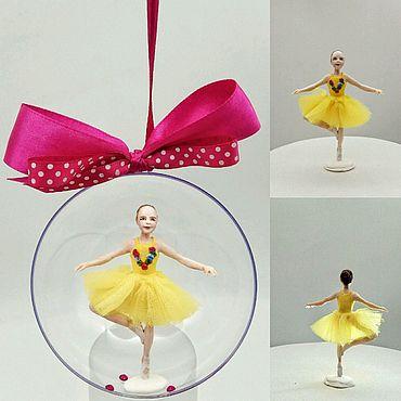 Куклы и игрушки ручной работы. Ярмарка Мастеров - ручная работа фигурка балеринки по фото, портретная кукла. Handmade.