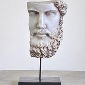 Для дома и интерьера handmade. Livemaster - original item Concrete Greek sculpture portrait, Hercules concrete. Handmade.