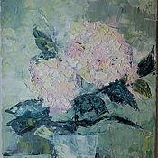 Картины и панно ручной работы. Ярмарка Мастеров - ручная работа Цветы в вазе. Handmade.