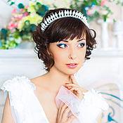 Свадебный салон handmade. Livemaster - original item Crown wedding. tiara.. Handmade.