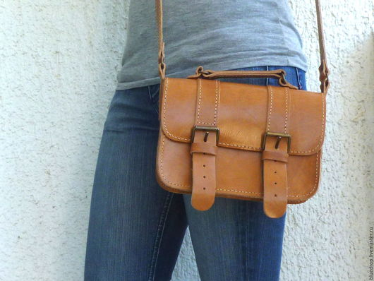Женские сумки ручной работы. Ярмарка Мастеров - ручная работа. Купить Маленькая сумочка ранец, сумка через плечо, кросс боди. Handmade.