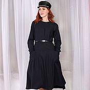 Одежда handmade. Livemaster - original item Wool dress