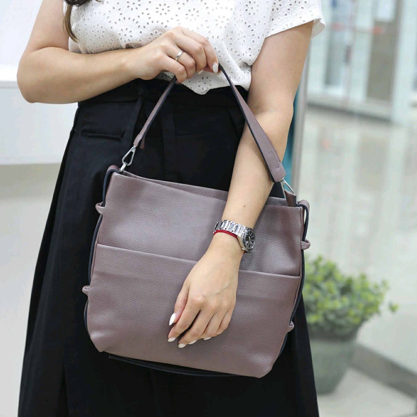 Женская кожаная сумка, Сумка-тоут, Балашиха,  Фото №1