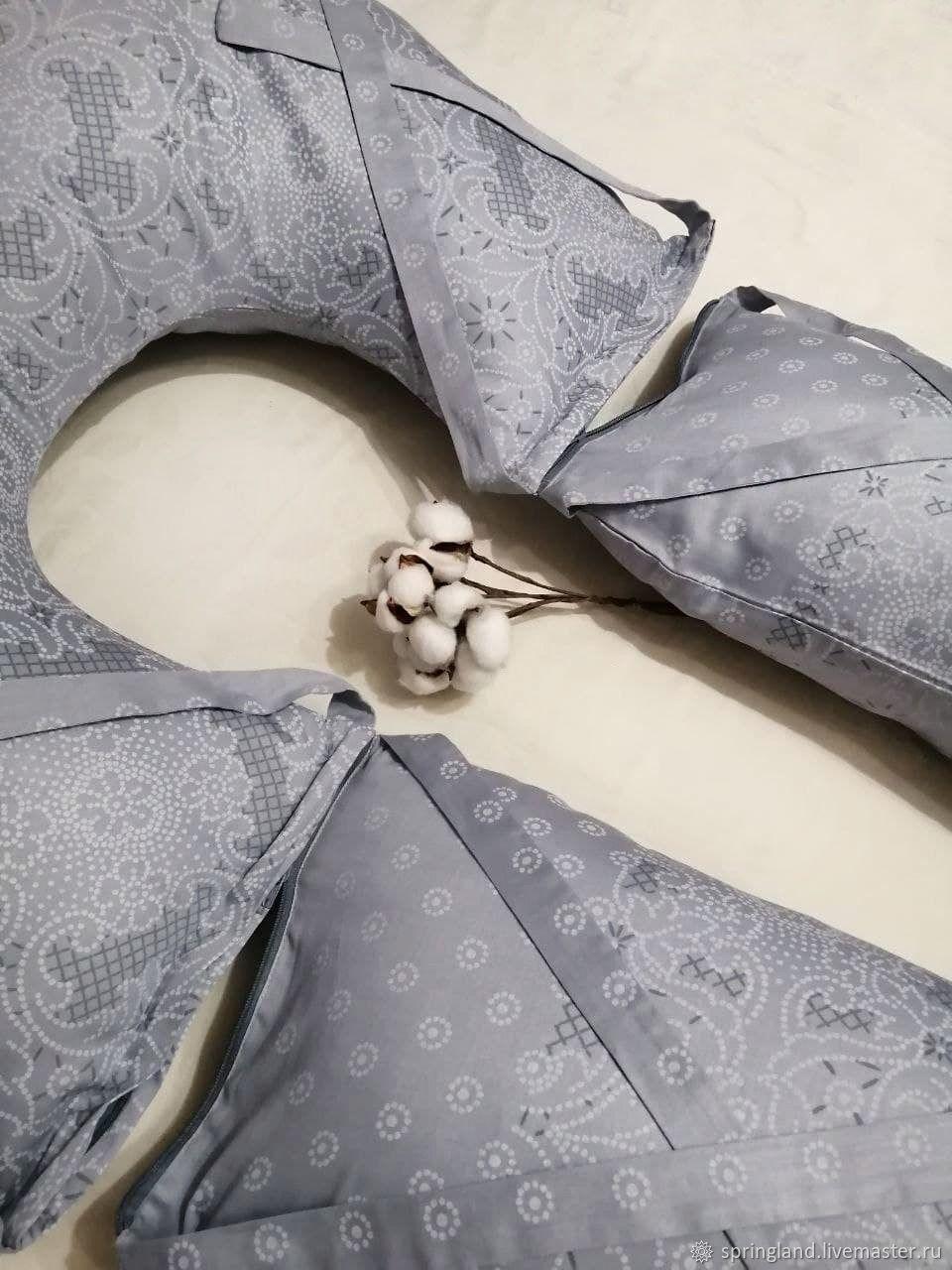 Подушка для кормления ребёнка , для беременных, для сна и отдыха, Подушки, Москва,  Фото №1