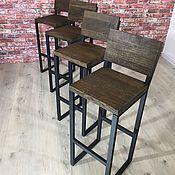 Стулья ручной работы. Ярмарка Мастеров - ручная работа Барные стулья лофт. Handmade.