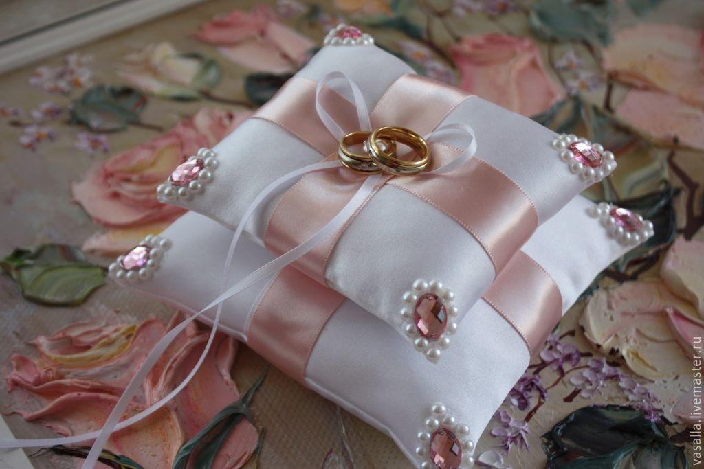 Подушечка для колец с цветами своими руками - Xaxatalka.ru