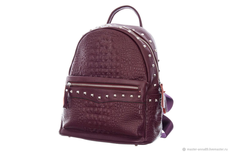 Кожаный рюкзак М274, Рюкзаки, Москва, Фото №1