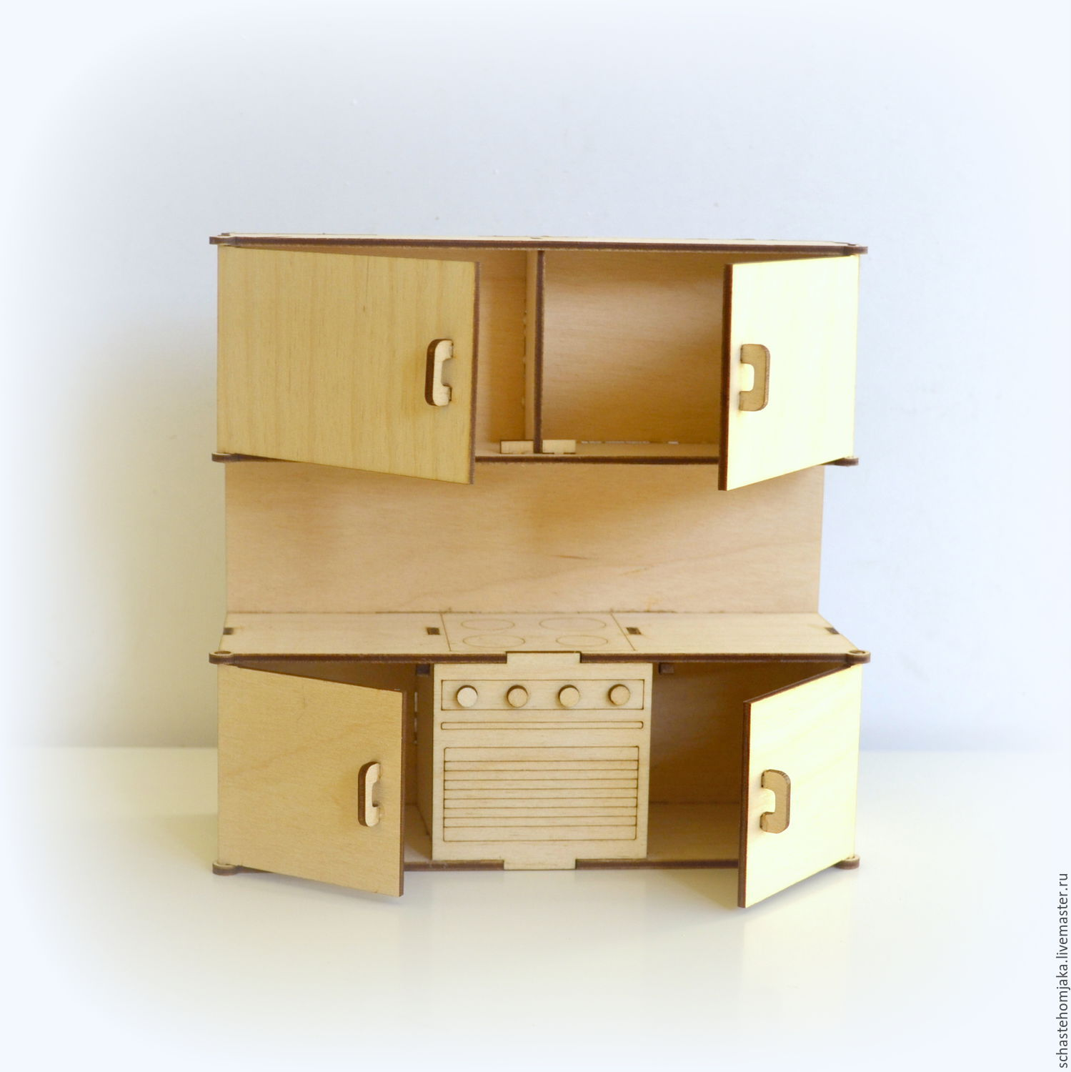 Kitchen For Dollhouse Shop Online On Livemaster With Shipping
