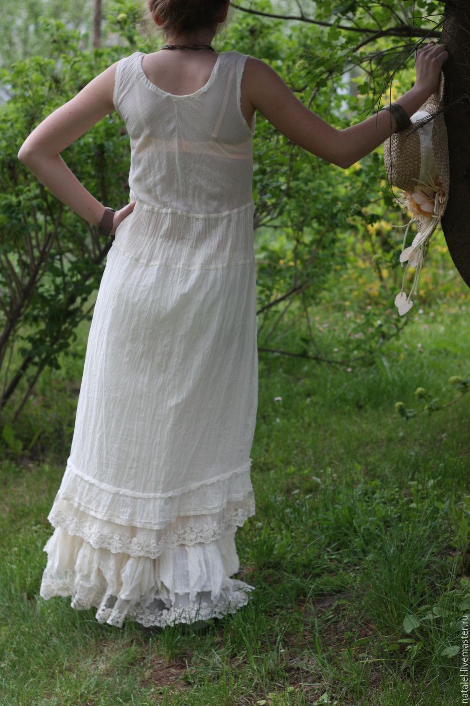 bf44c9c8295 Платье крем батист