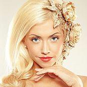 Свадебный салон ручной работы. Ярмарка Мастеров - ручная работа Золотые розы. Handmade.