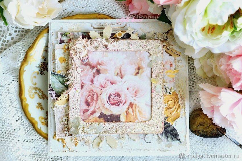 """Свадебная открытка """"Идеальный день для роз"""", Открытки, Москва,  Фото №1"""
