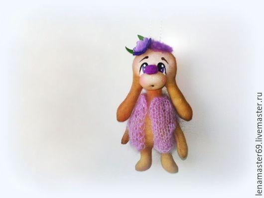 Ароматизированные куклы ручной работы. Ярмарка Мастеров - ручная работа. Купить Ароматизированный заяц!!!. Handmade. Бледно-сиреневый