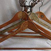 Для дома и интерьера ручной работы. Ярмарка Мастеров - ручная работа Вешалки  для одежды  с налетом времени. Handmade.