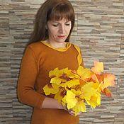 """Одежда ручной работы. Ярмарка Мастеров - ручная работа Джемпер """"Осенний вальс"""". Handmade."""