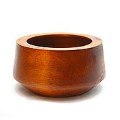 Для дома и интерьера handmade. Livemaster - original item Wooden Bowl made of Siberian pine 175#52. Handmade.