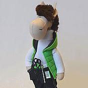 Куклы и игрушки ручной работы. Ярмарка Мастеров - ручная работа Парикмахер2014. Handmade.