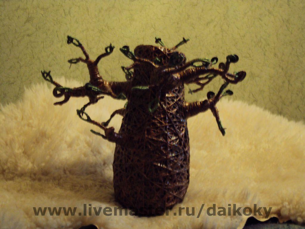 """Ваза """"Денежное дерево"""", Вазы, Москва,  Фото №1"""