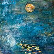 Картины и панно ручной работы. Ярмарка Мастеров - ручная работа Полнолуние. Handmade.