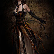 """Одежда ручной работы. Ярмарка Мастеров - ручная работа Костюм """"Женщина счастливая"""" стилизация на тему Египта. Handmade."""