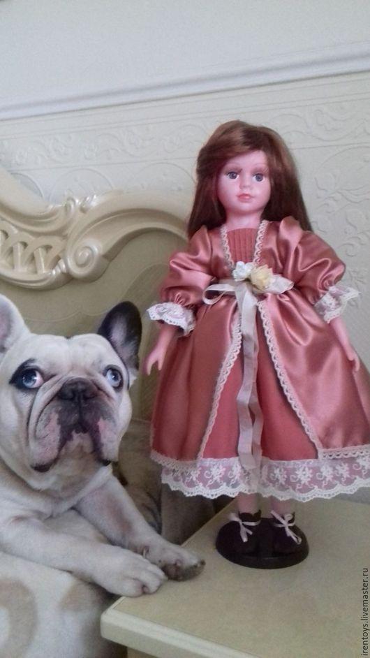 Куклы-младенцы и reborn ручной работы. Ярмарка Мастеров - ручная работа. Купить Кукла Анабель. Handmade. Коралловый, волосы для кукол