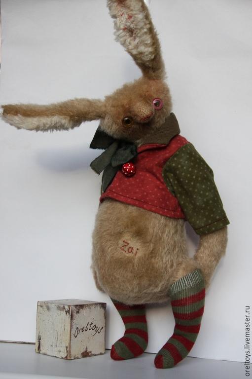 Мишки Тедди ручной работы. Ярмарка Мастеров - ручная работа. Купить Большой Зай. Handmade. Бежевый, друзья мишек тедди