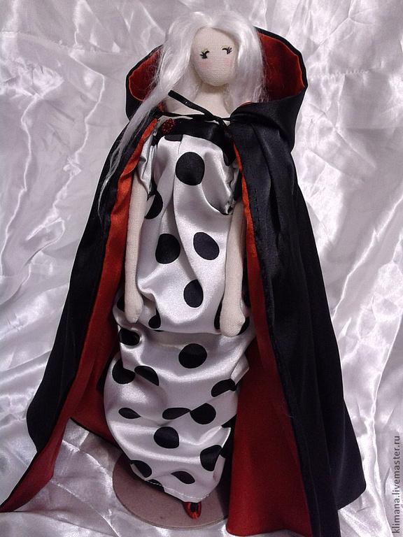 """кукла тряпиенс. """"...В черном плаще, с красным подбоем..."""", Куклы, Санкт-Петербург, Фото №1"""