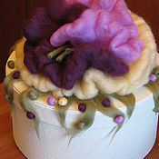 Свадебный салон ручной работы. Ярмарка Мастеров - ручная работа Коробка свадебная  Флора. Handmade.