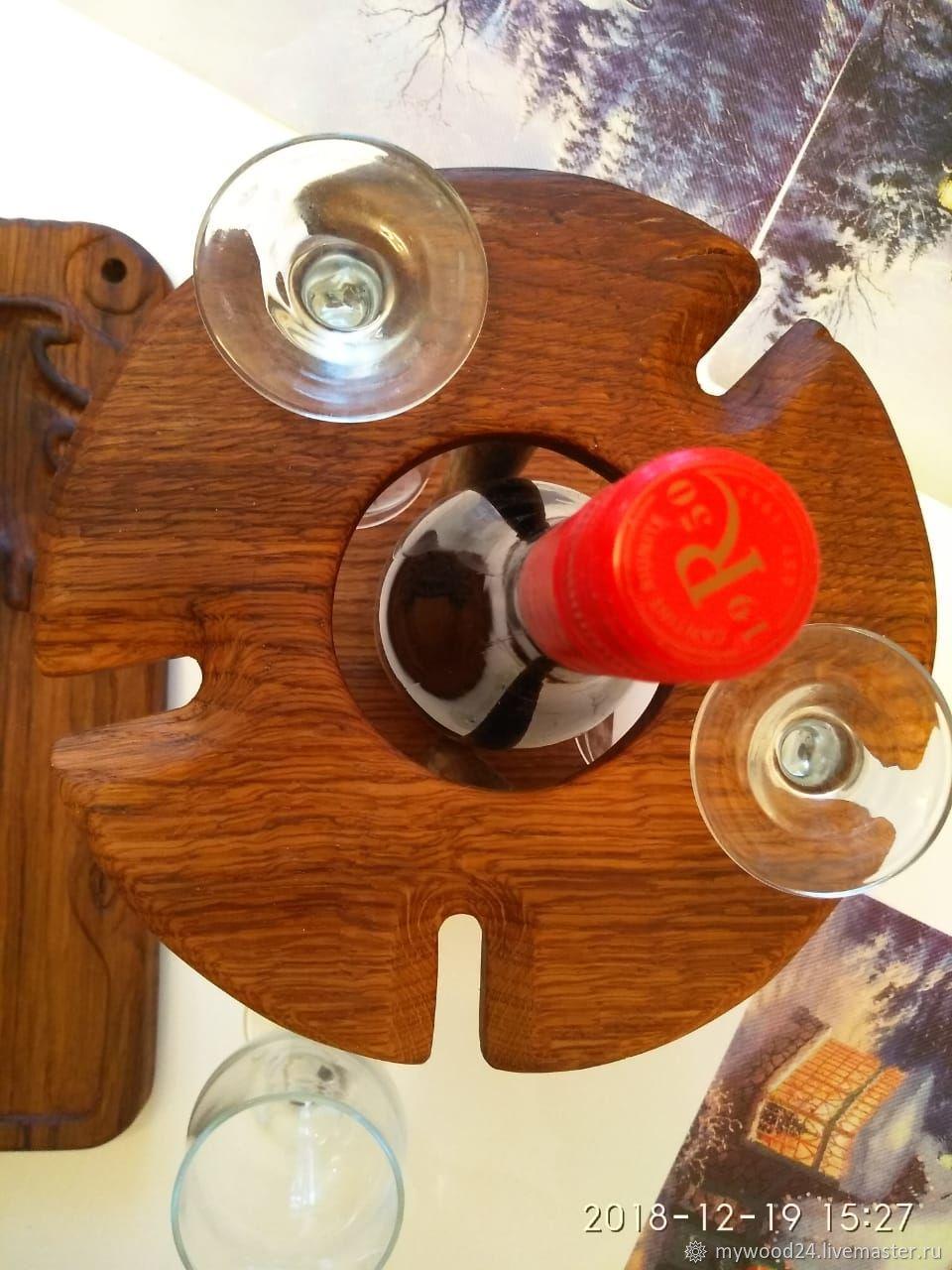 Стойка на вино своими руками