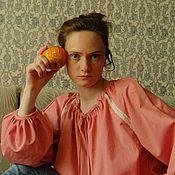 """Одежда ручной работы. Ярмарка Мастеров - ручная работа блуза в народном стиле """" Пелагея"""". Handmade."""