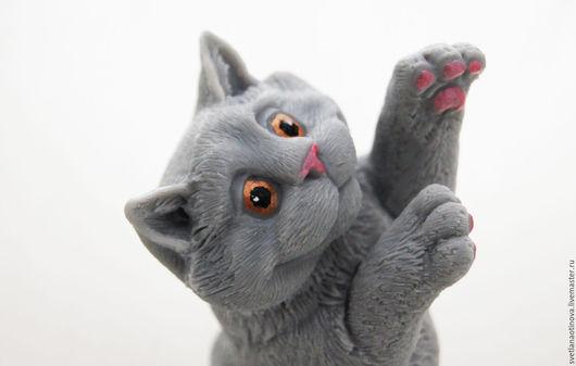 Мыло ручной работы. Ярмарка Мастеров - ручная работа. Купить Кот. Handmade. Кот в подарок, рыжий кот