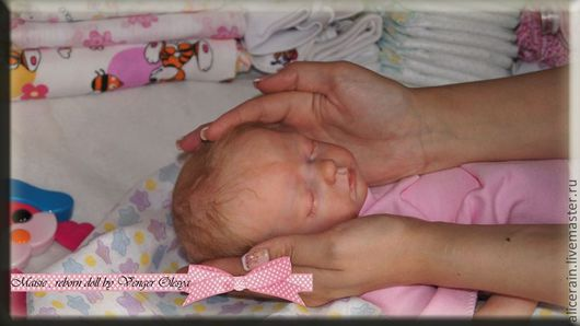Куклы-младенцы и reborn ручной работы. Ярмарка Мастеров - ручная работа. Купить Мой маленький ангел Мэйси. Кукла реборн Венгер Олеси. Handmade.