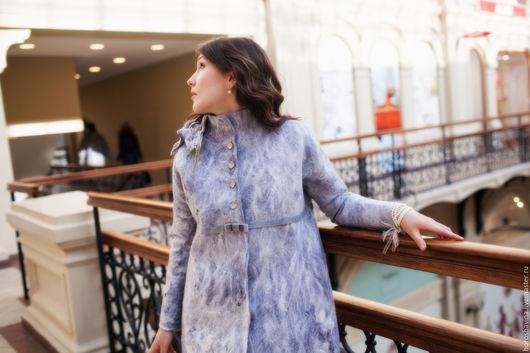 Верхняя одежда ручной работы. Ярмарка Мастеров - ручная работа. Купить Пальто в стиле Джейн Остин. Handmade. Разноцветный, молочный