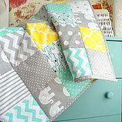 Для дома и интерьера ручной работы. Ярмарка Мастеров - ручная работа Лоскутное одеяло для новорожденного. Handmade.