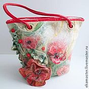 Сумки и аксессуары handmade. Livemaster - original item Bag felted