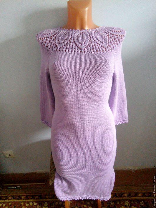 Платья ручной работы. Ярмарка Мастеров - ручная работа. Купить Платье. Handmade. Сиреневый, одежда
