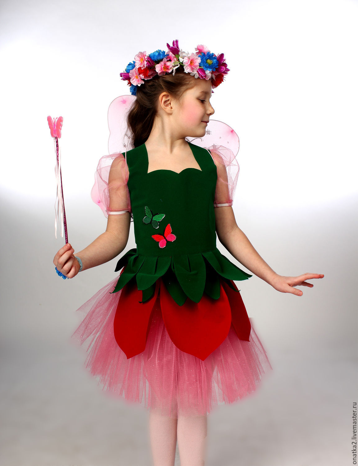 Flower Fairy Carnival Costume Shop Online On Livemaster With