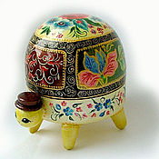 Для дома и интерьера ручной работы. Ярмарка Мастеров - ручная работа Шкатулка-черепаха. Handmade.