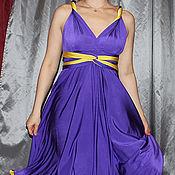 Одежда ручной работы. Ярмарка Мастеров - ручная работа Платье двухстороннее трансформер. Handmade.