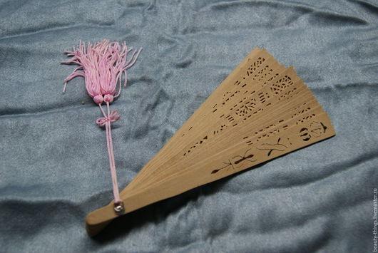Винтажная одежда и аксессуары. Ярмарка Мастеров - ручная работа. Купить Деревянный веер. Handmade. Винтаж, дерево