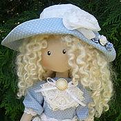 Куклы и игрушки ручной работы. Ярмарка Мастеров - ручная работа Интерьерная кукла Бланш с куклой. Handmade.