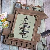 Для дома и интерьера handmade. Livemaster - original item The housekeeper the Keys to happiness. The housekeeper decoupage. Handmade.
