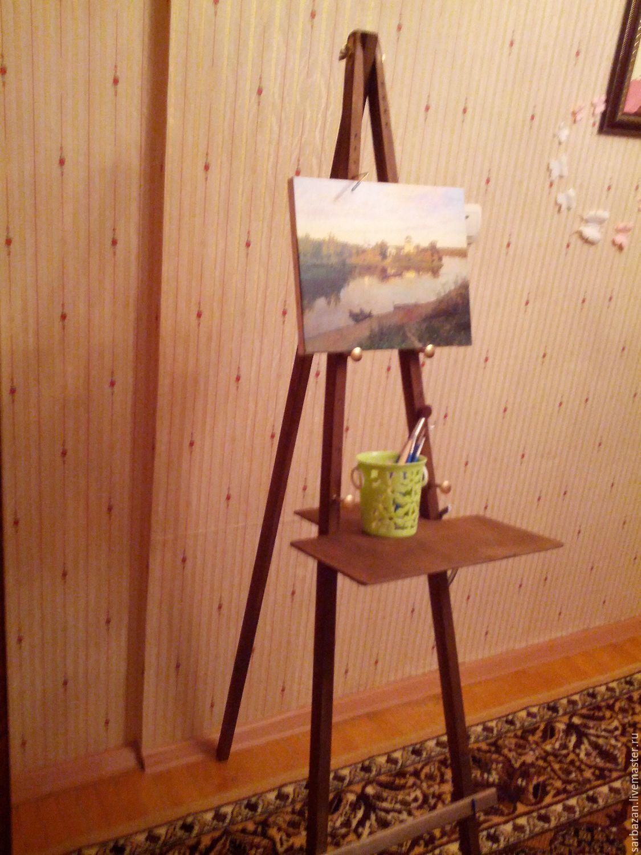 Сделать треногу для мольберта своими руками Как сделать мольберт для рисования