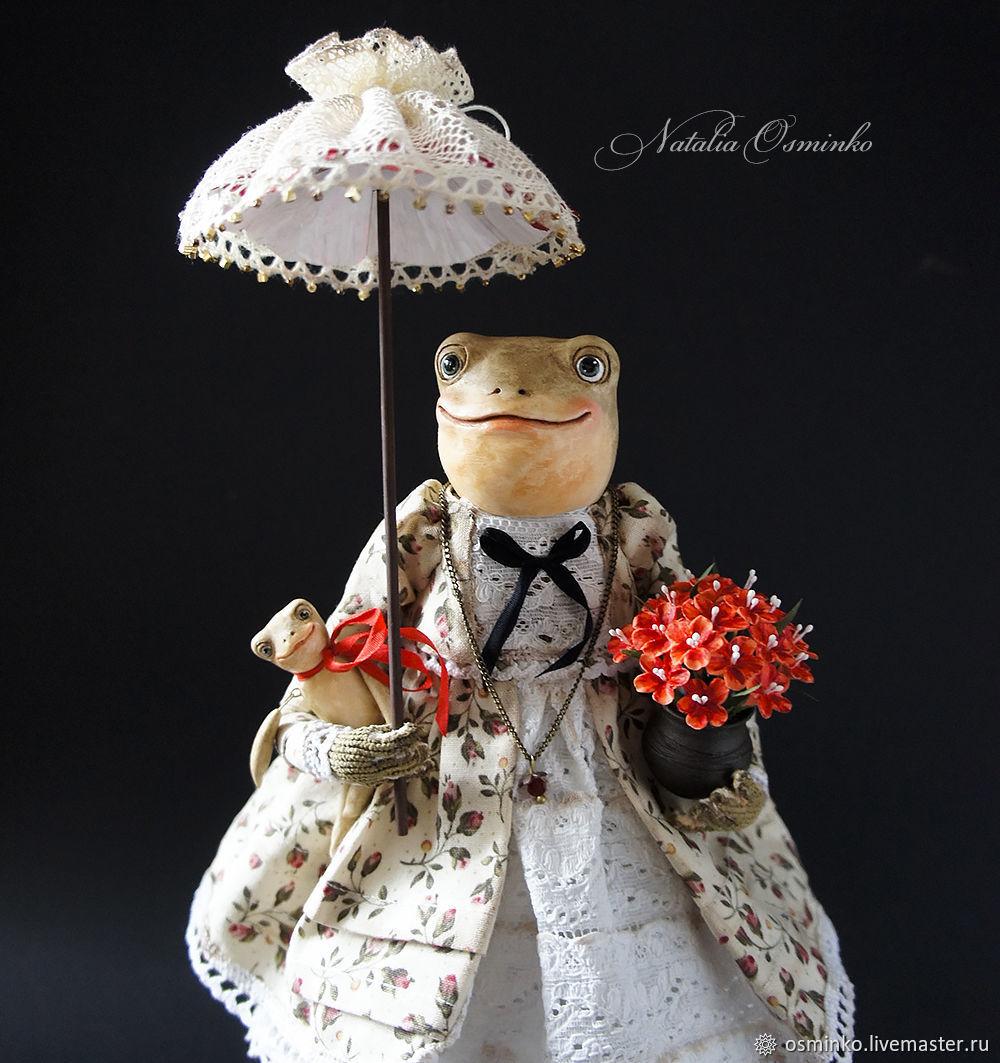 Лягушка Алионора, Куклы и пупсы, Белгород,  Фото №1