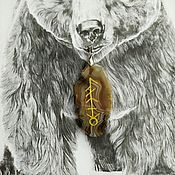 Фен-шуй и эзотерика handmade. Livemaster - original item Spirit Assistant Fetch Bear. Handmade.