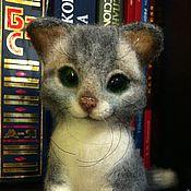 Куклы и игрушки ручной работы. Ярмарка Мастеров - ручная работа осенний кот для Веры. Handmade.
