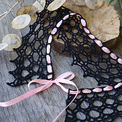 handmade. Livemaster - original item Custom-made knitted collar in any color. Handmade.