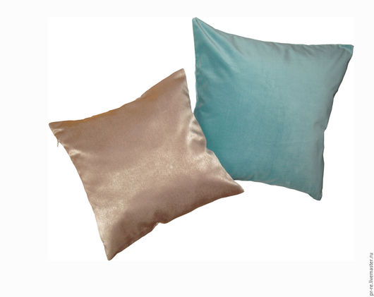 Текстиль, ковры ручной работы. Ярмарка Мастеров - ручная работа. Купить Чехол для подушки атласно-бежевый. Декоративные подушки,наволочки. Handmade.