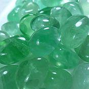 Материалы для творчества handmade. Livemaster - original item Fluorite green (extra tumbling ) Shangrao, Jiangxi province( China). Handmade.