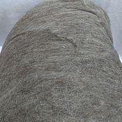 Материалы для творчества handmade. Livemaster - original item БМ1269. Blend bergshav+Merino (50/50). Color: brown-gray. 100 gr.. Handmade.