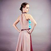 Одежда ручной работы. Ярмарка Мастеров - ручная работа Вечерний костюм Fleur valse, длинное вечернее платье, кружевное платье. Handmade.